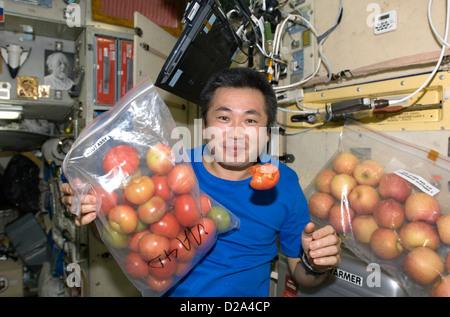 13 mai 2009 de l'Agence japonaise d'exploration aérospatiale (JAXA) expédition de l'astronaute Koichi Wakata 19/20 Banque D'Images