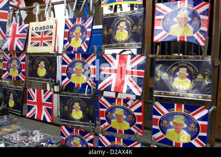 United Kingdom London Borough de Kensington et Chelsea samedi marché d'antiquités de Portobello road Banque D'Images