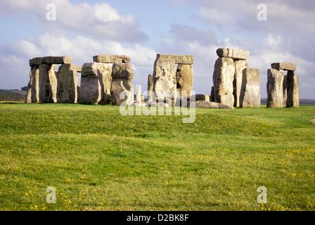 L'Angleterre, dans le Wiltshire, Stonehenge Banque D'Images