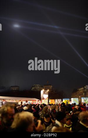 Berlin, Allemagne, les célébrations du 20e anniversaire de la chute Banque D'Images