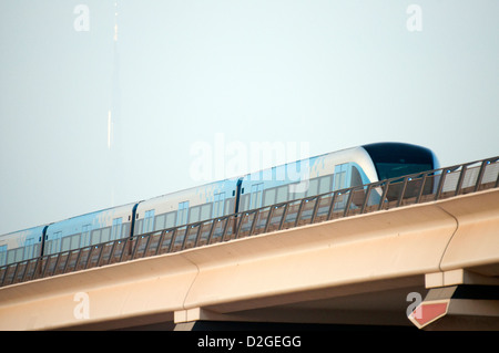 Métro de Dubaï Banque D'Images