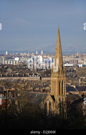 Ville de Glasgow skyline Banque D'Images