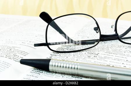Dictionnaire Français-Anglais Banque D'Images