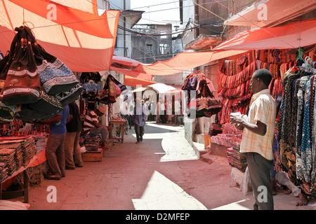 Ville historique de Stone Town et le marché de l'île de Zanzibar, l'Afrique dans l'Océan Indien Banque D'Images