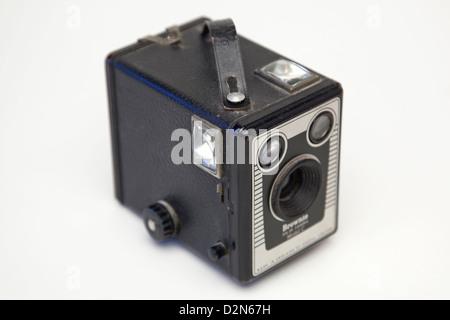 Un appareil photo vintage box Banque D'Images