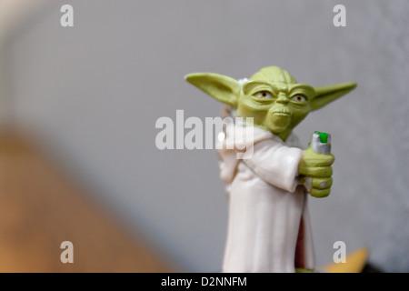 Le Chevalier Jedi Banque D'Images