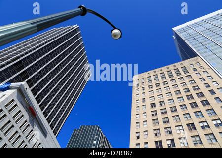 Gratte-ciel dans le quartier de cinq points, Atlanta, Géorgie, États-Unis d'Amérique, Amérique du Nord Banque D'Images