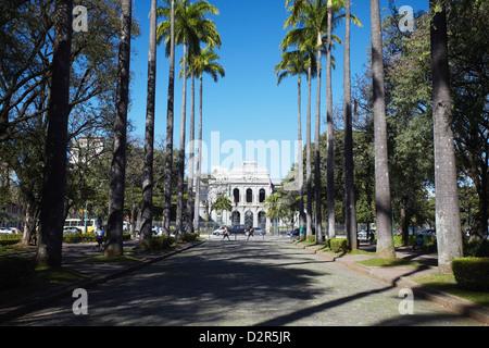 Palacio do Governo (Palais du Gouvernement), Praca da Liberdade, Belo Horizonte, Minas Gerais, Brésil, Amérique du Sud