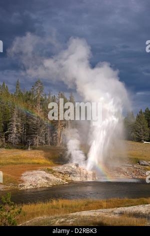 Riverside Geyser, Upper Geyser Basin, Parc National de Yellowstone, Wyoming, USA