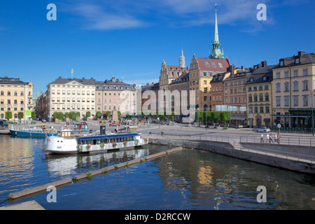 Kornhamnstorg, Gamla Stan, Stockholm, Suède, Europe Banque D'Images