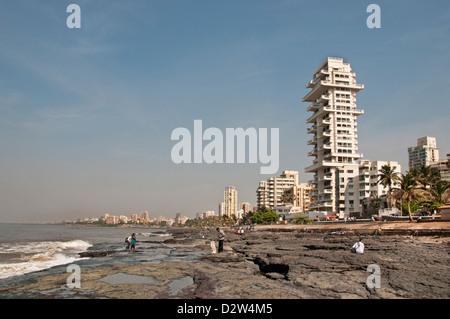 Le Bandra Beach road Mumbai ( Bombay ) Inde Architecture moderne