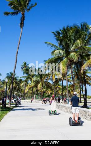 Le parc Lummus, Miami Beach, États-Unis Banque D'Images