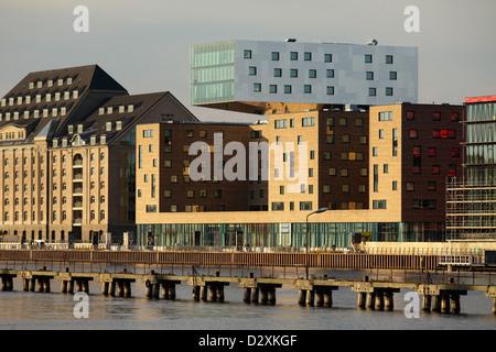 Berlin, Allemagne, l'Hôtel Nhow sur la Spree à Berlin-Friedrichshain Banque D'Images