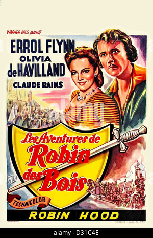 Les aventures de Robin des Bois Banque D'Images