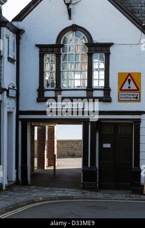 Bridge Street, Lyme Regis, dans le Dorset, Angleterre Banque D'Images