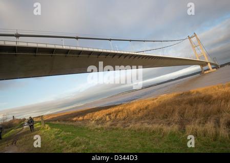 Le pont Humber de Barton-upon-Humber.