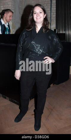 Julie Pacino participant à la ligne de la pauvreté au grand parti de divertissement pendant le 63e Festival International du Film de Berlin / Berlinale. 11 février 2013