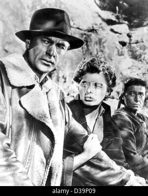 """(Dpa) - Ingrid Bergman stars avec Gary Cooper dans le film 'Pour qui sonne le glas' (1943). Ingrid Bergman est mort il y a 20 ans pour son 67e anniversaire le 29 août 1982 à Londres. L'actrice suédoise, né le 29 août 1915 à Stockholm, a eu son breakthrouh international dans le légendaire """"Casablanc"""