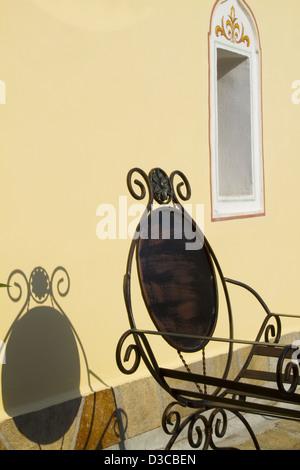 La Bulgarie, Europe, Plovdiv, Vieille Ville, Maison Mevlevi Hane, Monastère Derviche, Restaurant coin. Banque D'Images