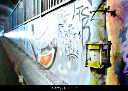 Tube décoré Banque D'Images