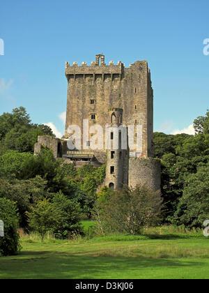Le château de Blarney dans le comté de Cork, Irlande Banque D'Images