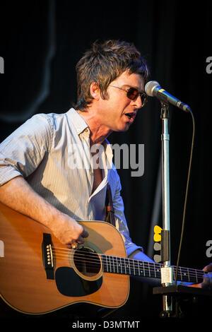 Après l'Oasis, Noel Gallagher's High Flying Birds Concert au V Festival, Chelmsford Essex uk Banque D'Images