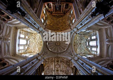 Interiors à Séville, de l'église cathédrale, l'Andalousie, Espagne Banque D'Images