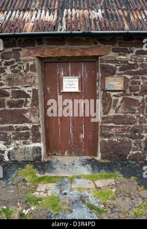 Au musée du saumon bothy, Stoer, Sutherland Assynt, Ecosse Banque D'Images