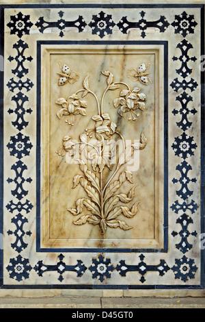 Magic Flower en plein air. Fort d'Amber à Jaipur. Banque D'Images