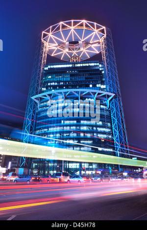 Tour Jongo à Séoul, Corée du Sud. Banque D'Images