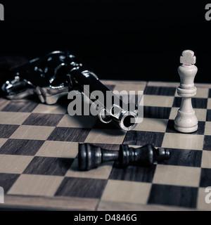 Le roi noir a été tué