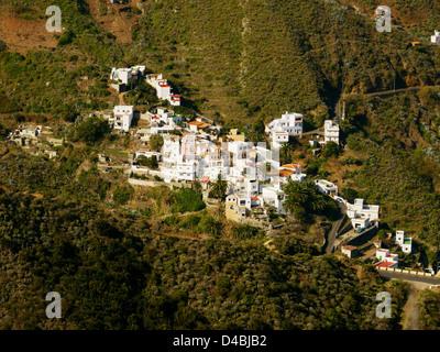 Village de Taganana, Tenerife, Canaries, Espagne Banque D'Images