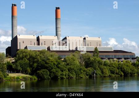 Centrale thermique à Huntly Nouvelle-Zélande NZ