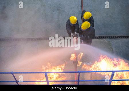 Firefighter Banque D'Images