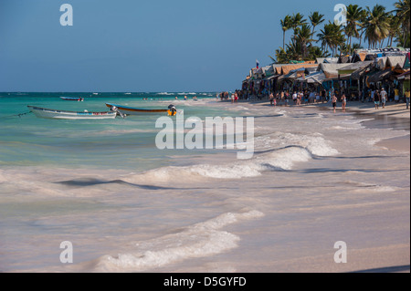 République dominicaine, Punta Cana, Higuey, Bavaro Beach, Bavaro, marché Banque D'Images