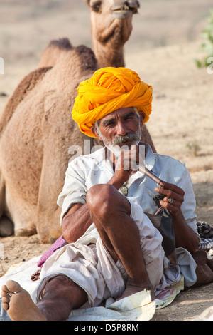Festival du chameau de Pushkar Banque D'Images