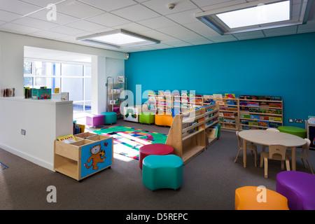 Whitley Park Nursery School classe les nourrissons Banque D'Images