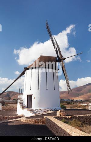Mill Museum Centro de Interpretacion de los Molinos, Tiscamanita, Fuerteventura, Îles Canaries, Espagne Banque D'Images