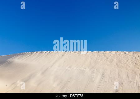 Dunes, Risco del Paso, Fuerteventura, Îles Canaries, Espagne Banque D'Images