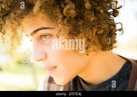 Close up of Young Man