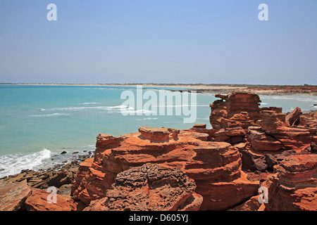 Point Gantheaume Cable Beach Broome Le Kimberley Australie Occidentale Banque D'Images