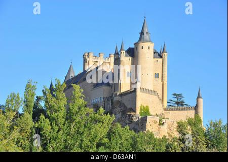 Château de Ségovie, Segovia, Madrid, Spain, Europe Banque D'Images
