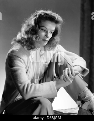KATHARINE HEPBURN (1907-2003) Actrice américaine vers 1940 Banque D'Images