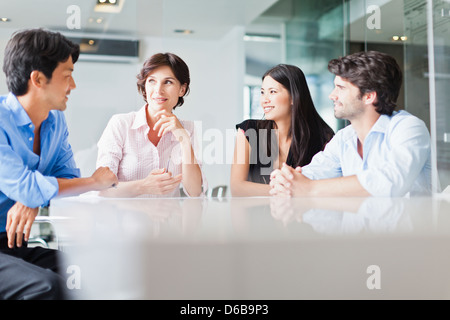 Business people Banque D'Images