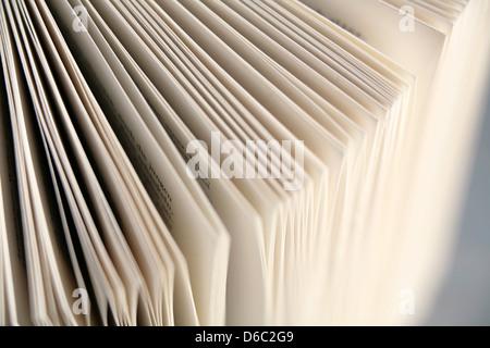 livre, page de livre Banque D'Images