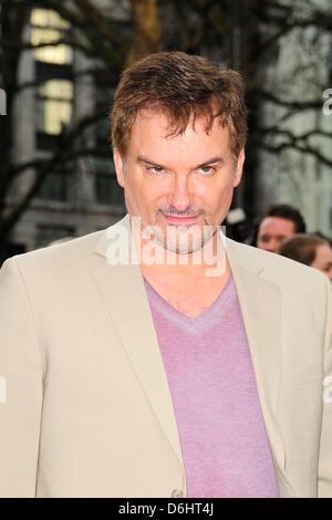 Londres, Royaume-Uni. 18 avril, 2013. Invité à l'homme de fer 3 Premiere à Leicester Square, Londres. Banque D'Images