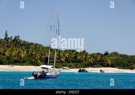 Les Bains, Virgin Gorda, îles Vierges britanniques, Antilles, Caraïbes Banque D'Images