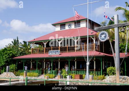 Bitter End Yacht Club, l'île de Virgin Gorda, îles Vierges britanniques, Antilles, Caraïbes, Amérique Centrale Banque D'Images