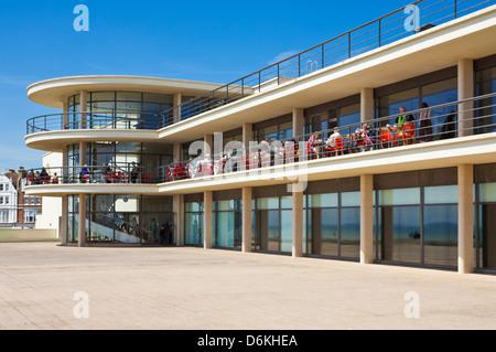 Le De La Warr Pavilion, Bexhill on Sea, East Sussex, England, UK, FR, EU, Europe Banque D'Images