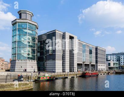 Le Royal Armouries Museum à Clarence Dock, Leeds, West Yorkshire, Royaume-Uni Banque D'Images